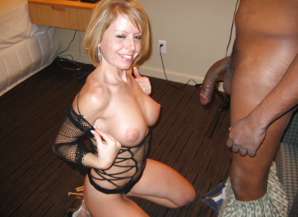 wife cock white Amateur black