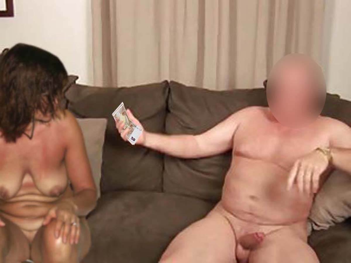 Wife sex for money