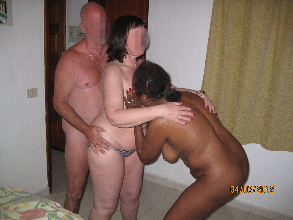 Swinging wife enjoys 2 blk men cuckold 10
