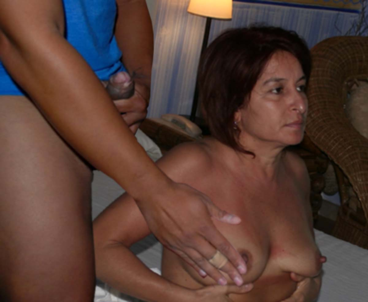 Quite Amateur older wife interracial tube