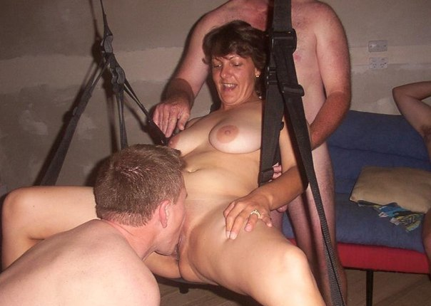 Swinger party wife