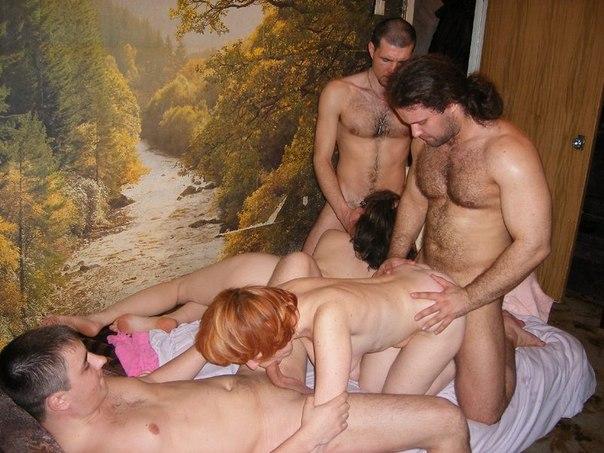 Multiply naked cuckold groups